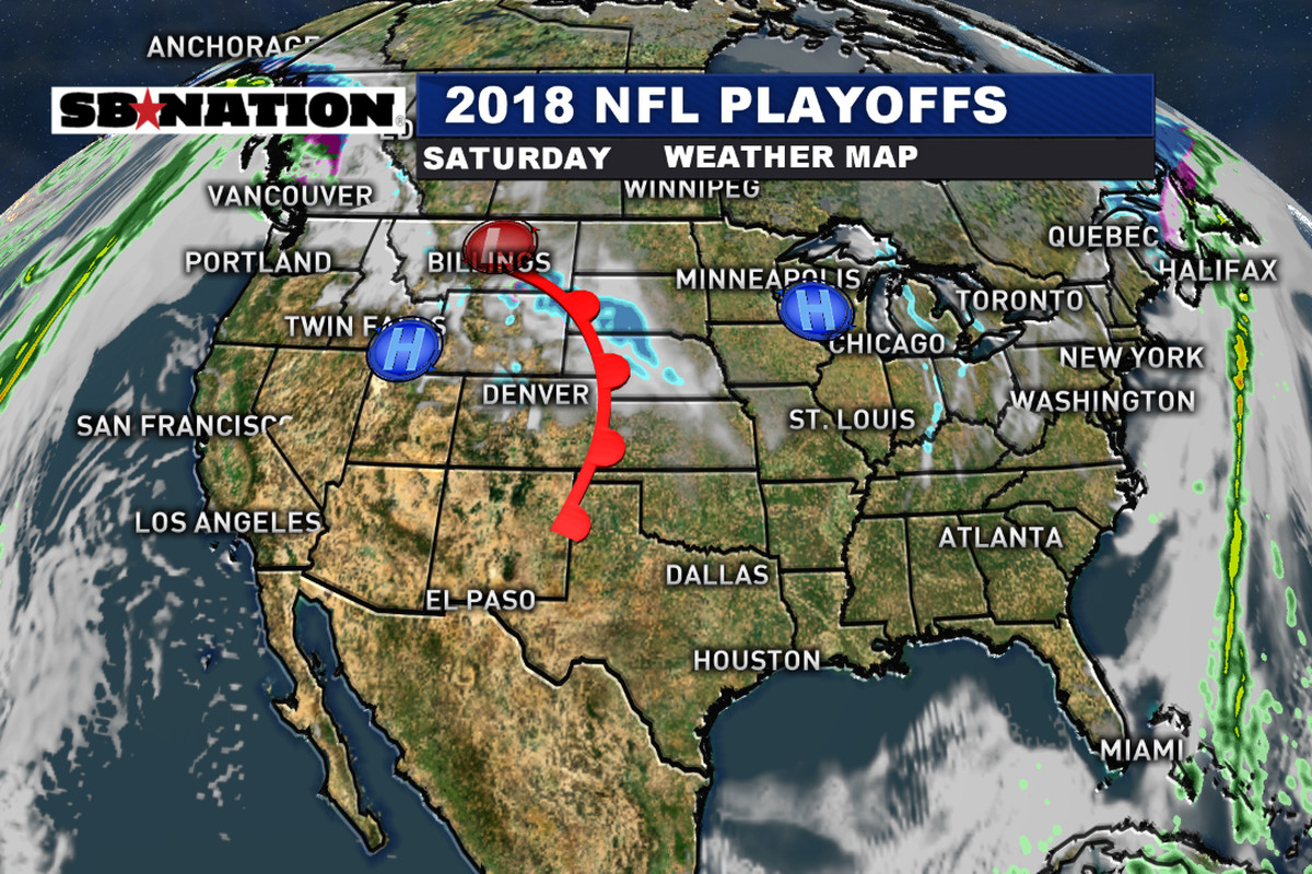 NFL Divisional playoff Saturday weather forecast 2018  Quiet start     NFL Divisional Playoff Weather Forecast 2018   Quiet start to the weekend