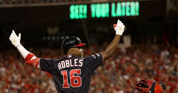 Washington Nationals up 3-0 on St. Louis Cardinals in NLCS after 8-1 win in D.C.
