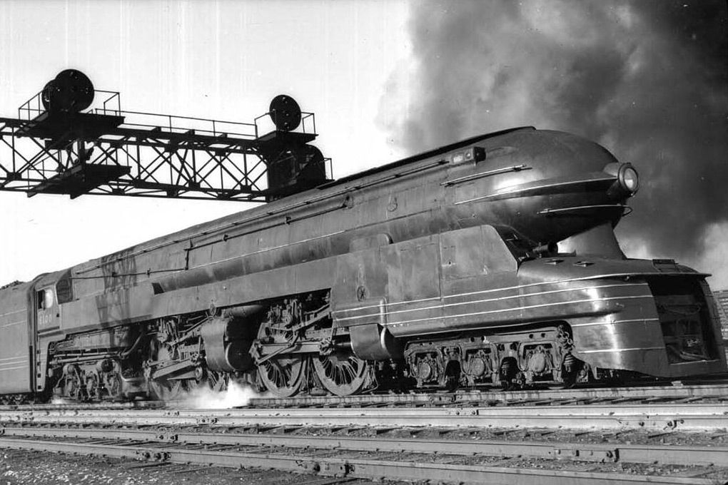Pennsylvania Railroad Locomotives Steam