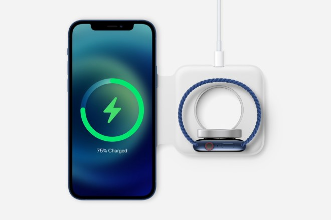 Yq6uMXU.0 Apple's iPhone 12 can wirelessly charge twice as fast, but only with a MagSafe charger   The Verge