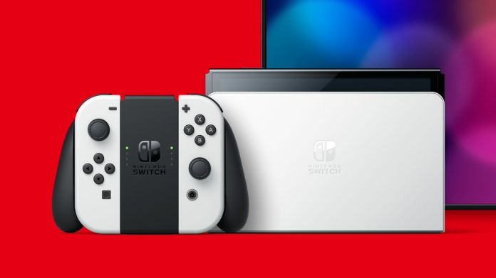 The new Nintendo Switch OLED model has an updated dock with ethernet.