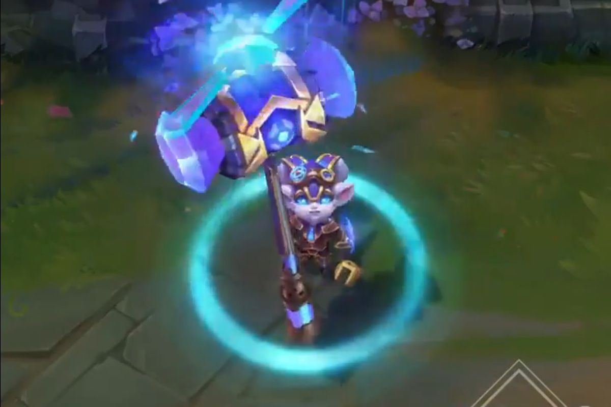 Hextech Poppy Is The Newest Crafting Exclusive Skin The