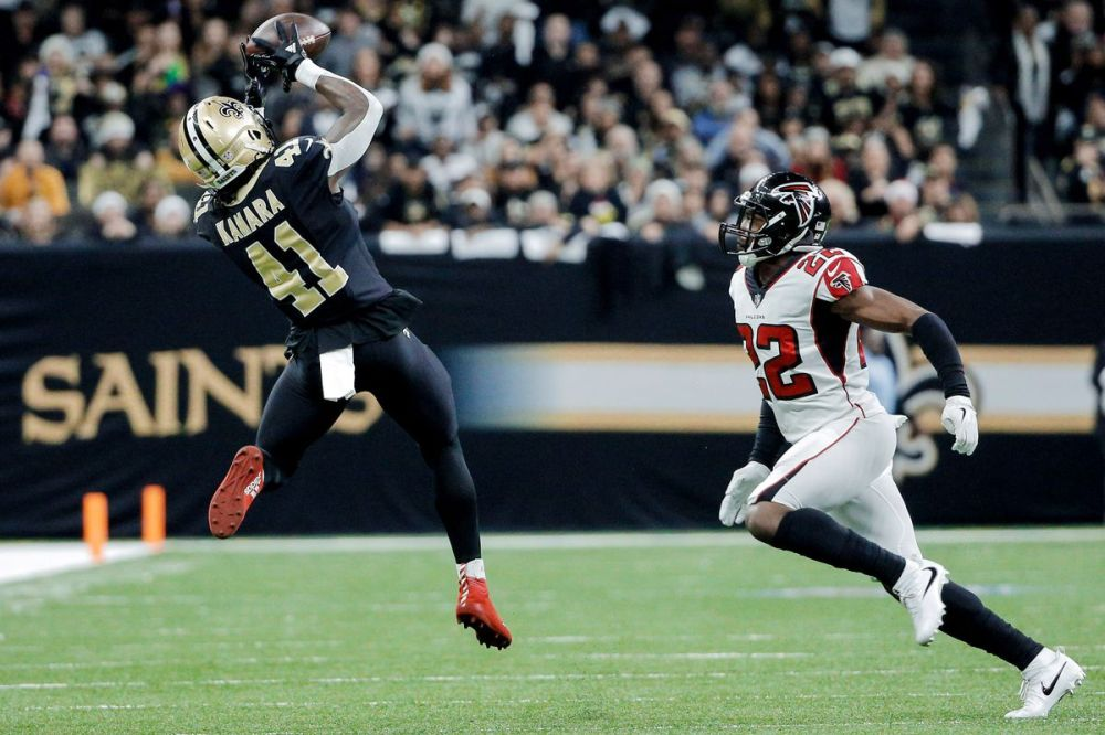 Image result for alvin kamara falcons