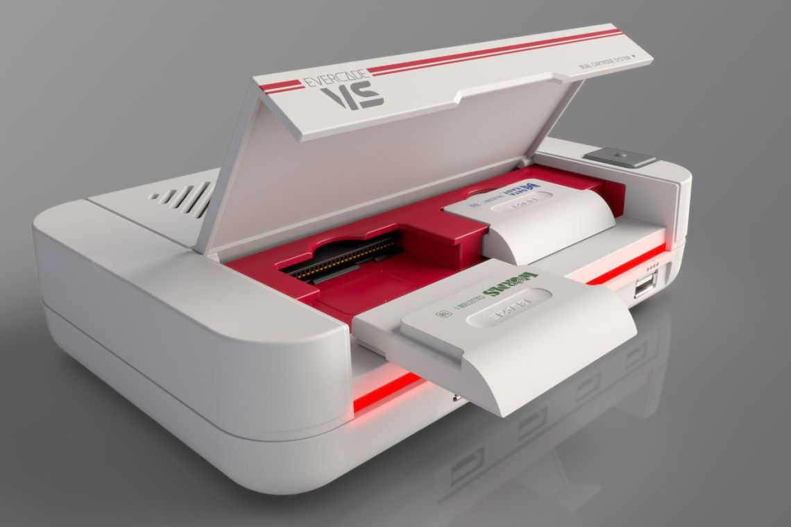 Evercade is making a retro console for your TV called the VS
