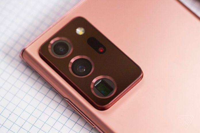 O aumento da câmera do Note 20 Ultra é substancial.