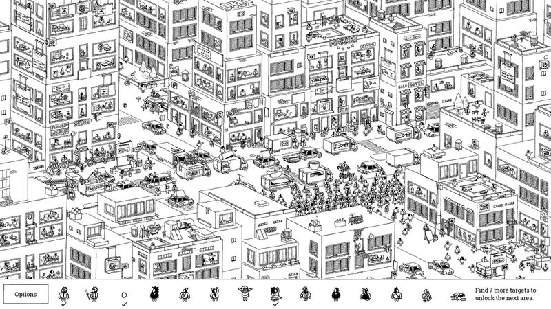 a dense cityscape