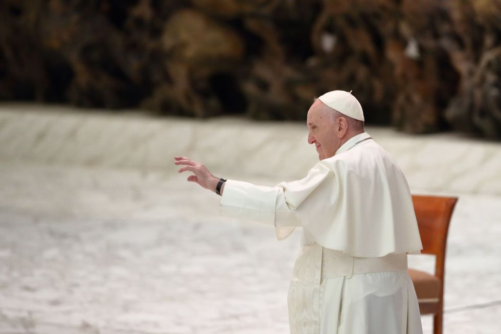 Weekly general audience of Pope Francis, October 28th, 2020
