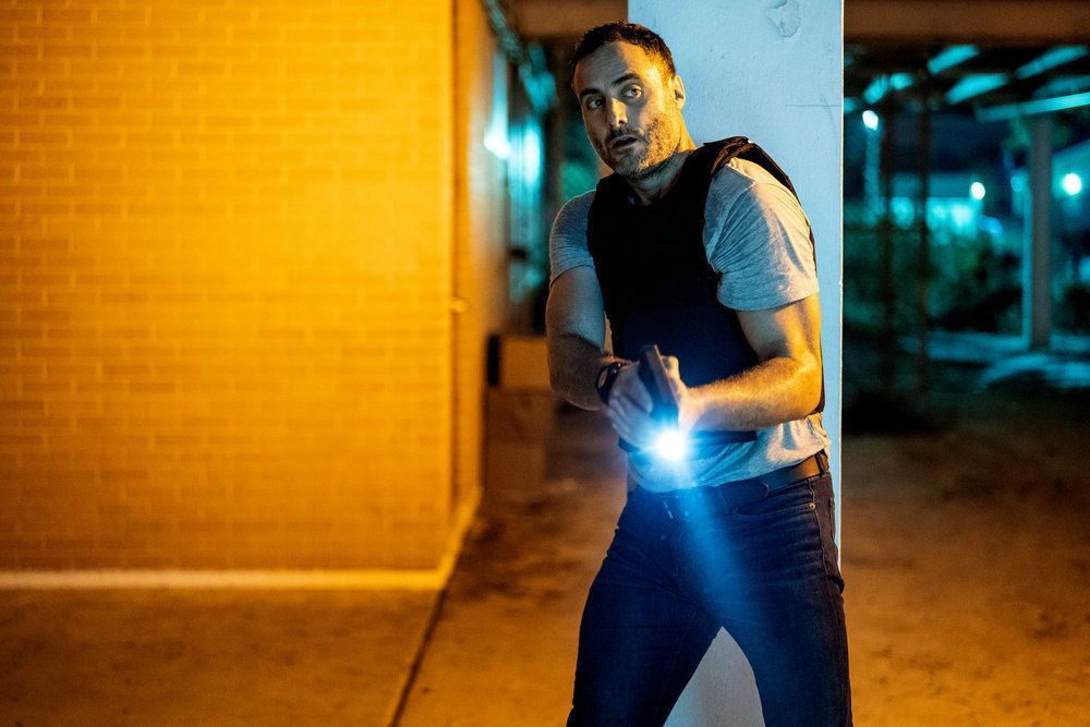 Dominic Fumusa as Pete in the purge tv show