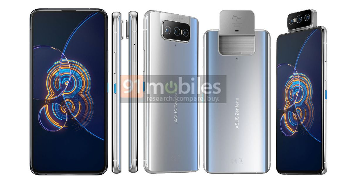 Asus Zenfone 8 Flip leak pairs flipping cameras with Snapdragon 888