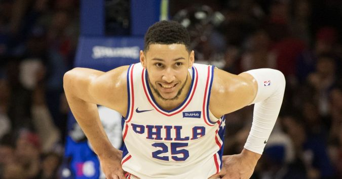 Image result for LEBRON JAMES AND BEN SIMMONS