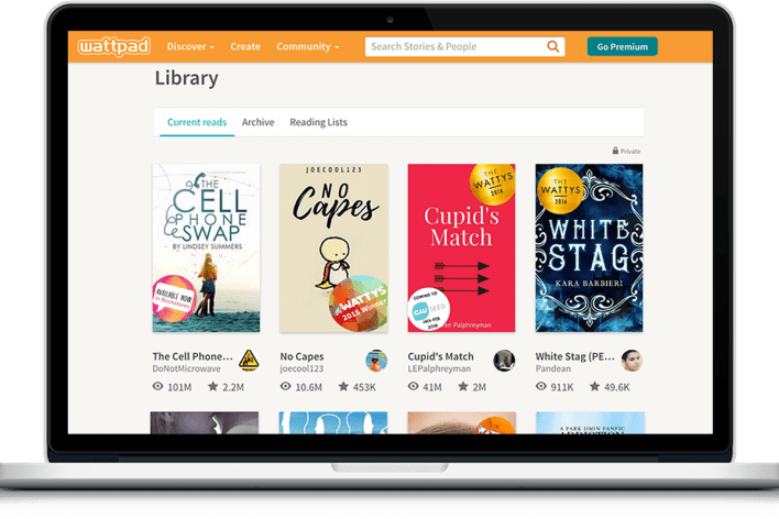 digital publishing site wattpad is partnering with sony to adapt stories for hollywood - the verge