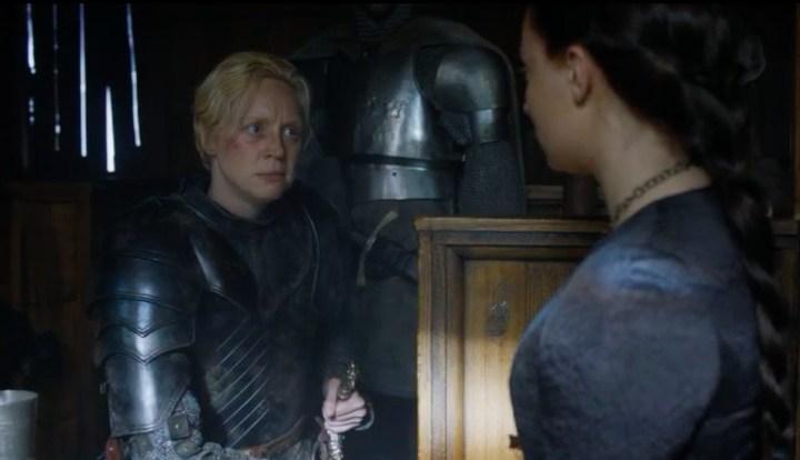 Sansa Catelyn bleue marine