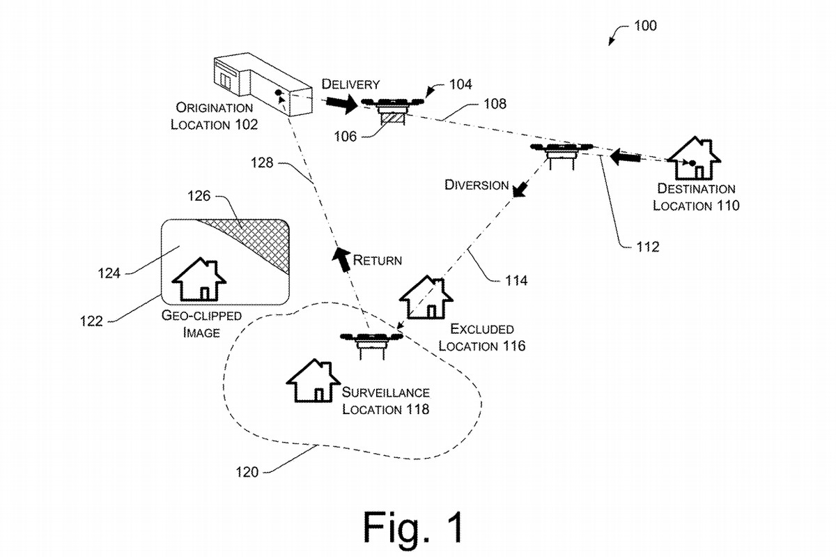 Amazon Patents Surveillance As A Service Tech For Its