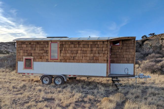 Travel Trailer Is A Cozy Tiny House On Wheels
