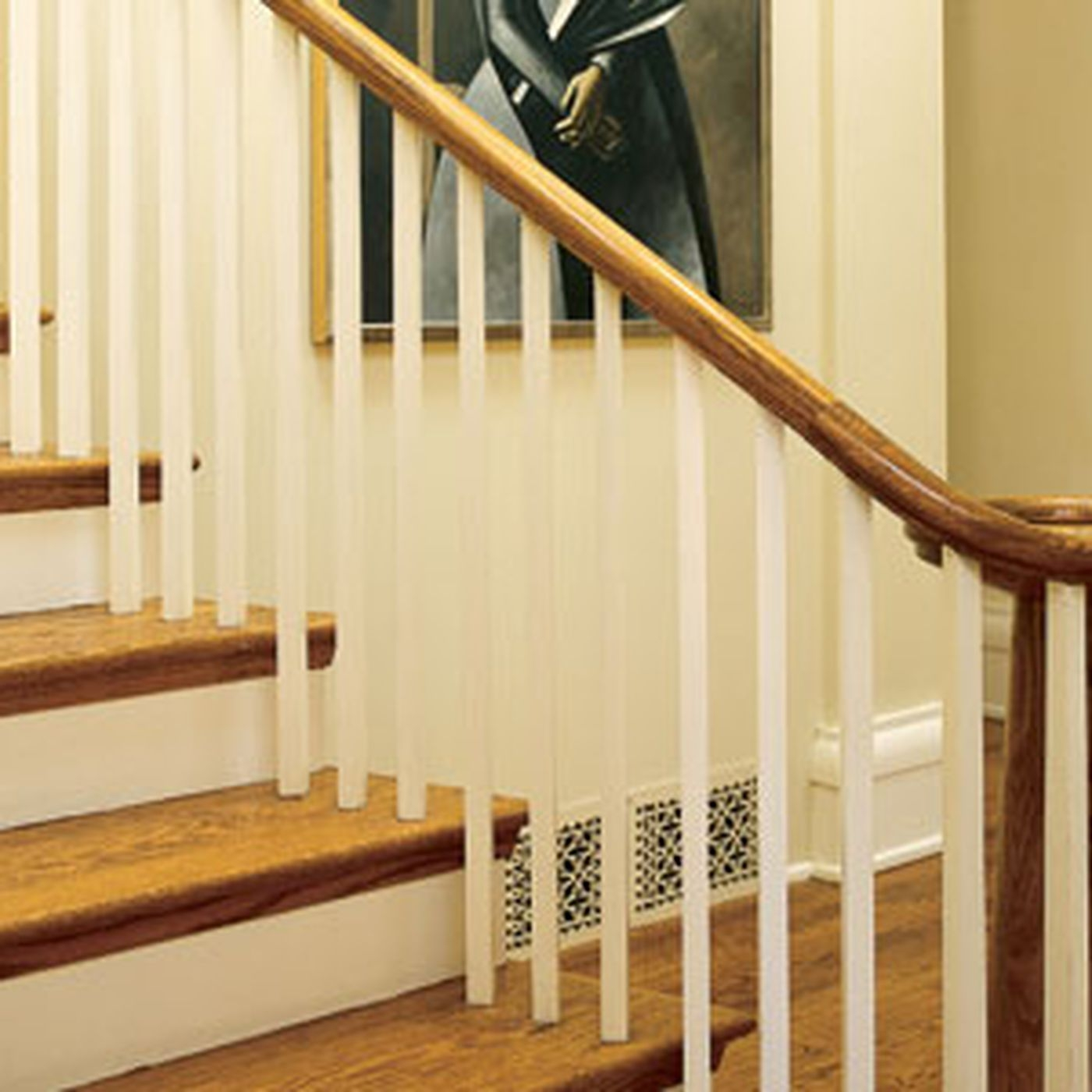 6 Ways To Make A Bland Staircase Grand This Old House | Mid Century Stair Rail | Basement | Fixer Up | U Shape | Plywood | Hand