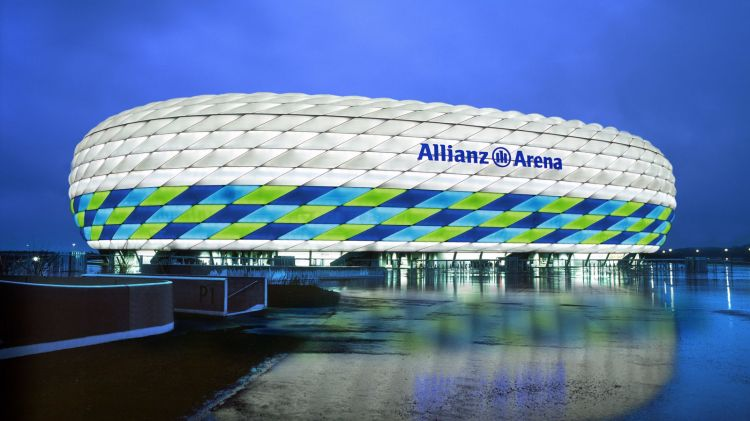 VIDEO: A look inside Bayern Munich's Allianz Arena ...