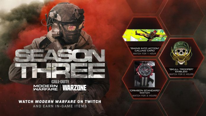 Modern Warfare Twitch Drop