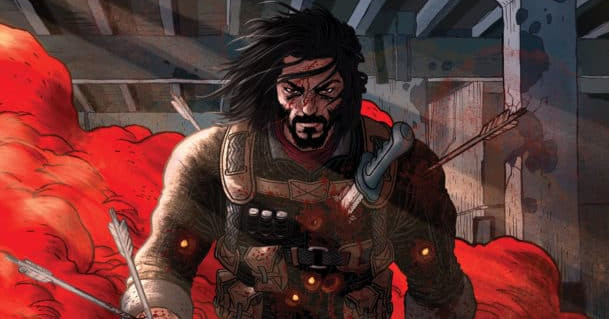 Netflix is turning Keanu Reeves' BRZRKR comic into a live-action movie and anime