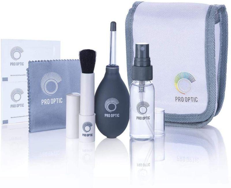 Kit completo per la pulizia e la cura dell'ottica ProOptic