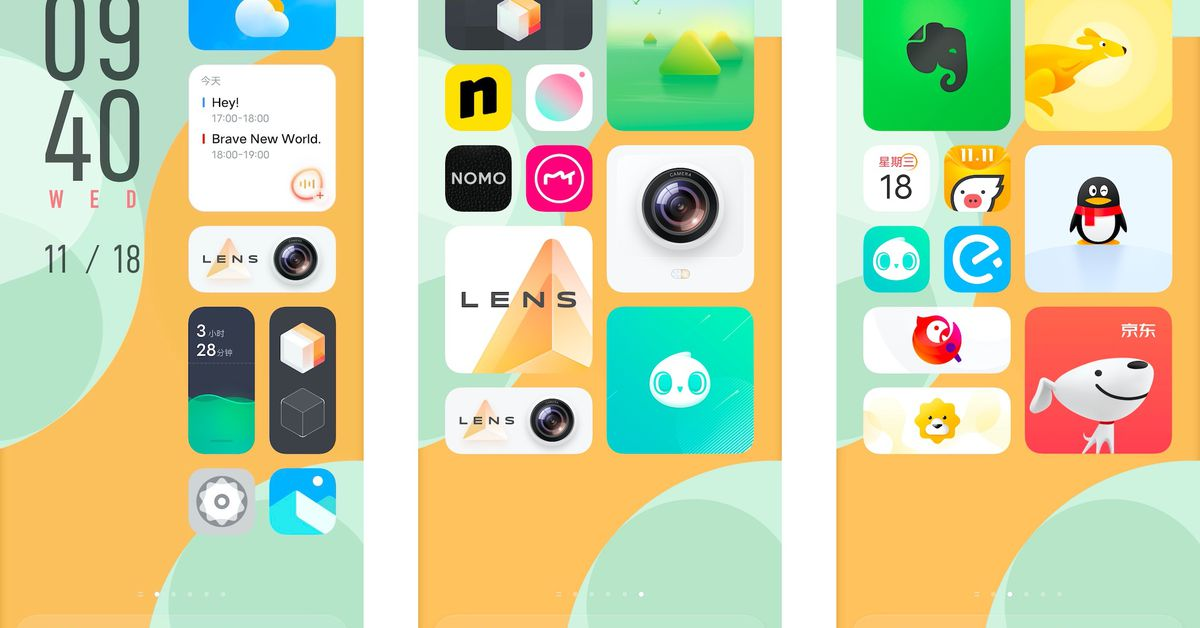 Vivo announces radically redesigned OriginOS Android skin