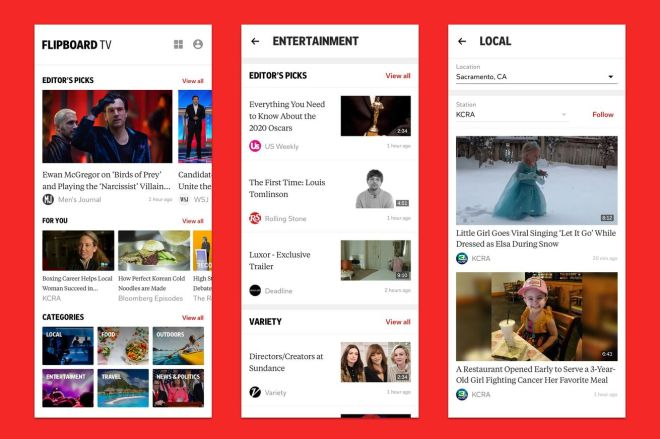 Flipboard_TV_Premieres_on_Samsung_Galaxy_S20.0 Flipboard will soon share short videos alongside the news for $3 a month | The Verge