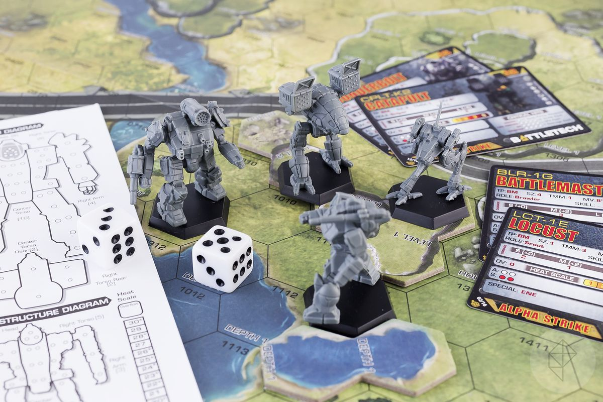 BattleTechs Two Excellent New Starter Sets Go On Sale This Week Polygon