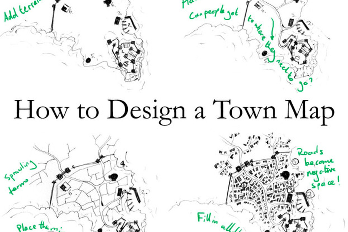 The No Bullshit Guide To Better Town Maps For Your D Amp D