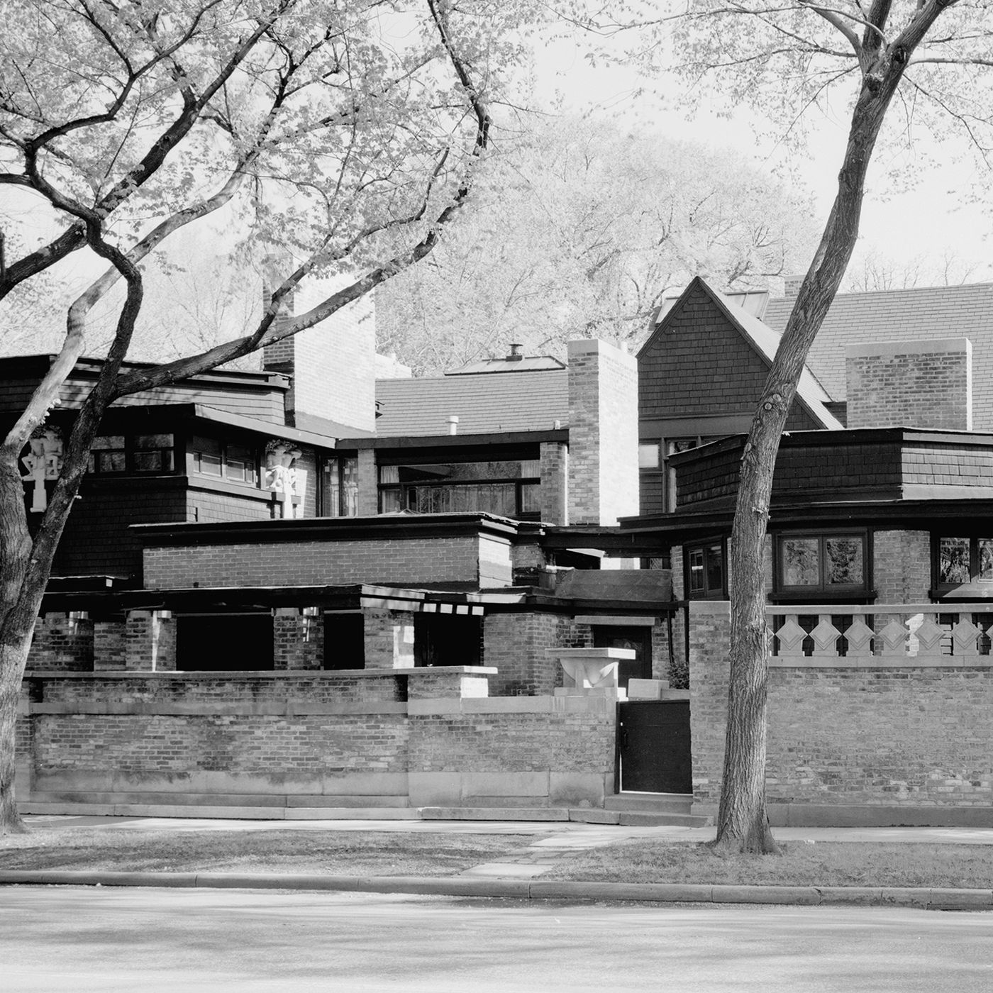 Becoming Frank Lloyd Wright Curbed | Frank Lloyd Wright Stairs | Exterior | Farmhouse | Gordon Strong | Bedroom | Wife