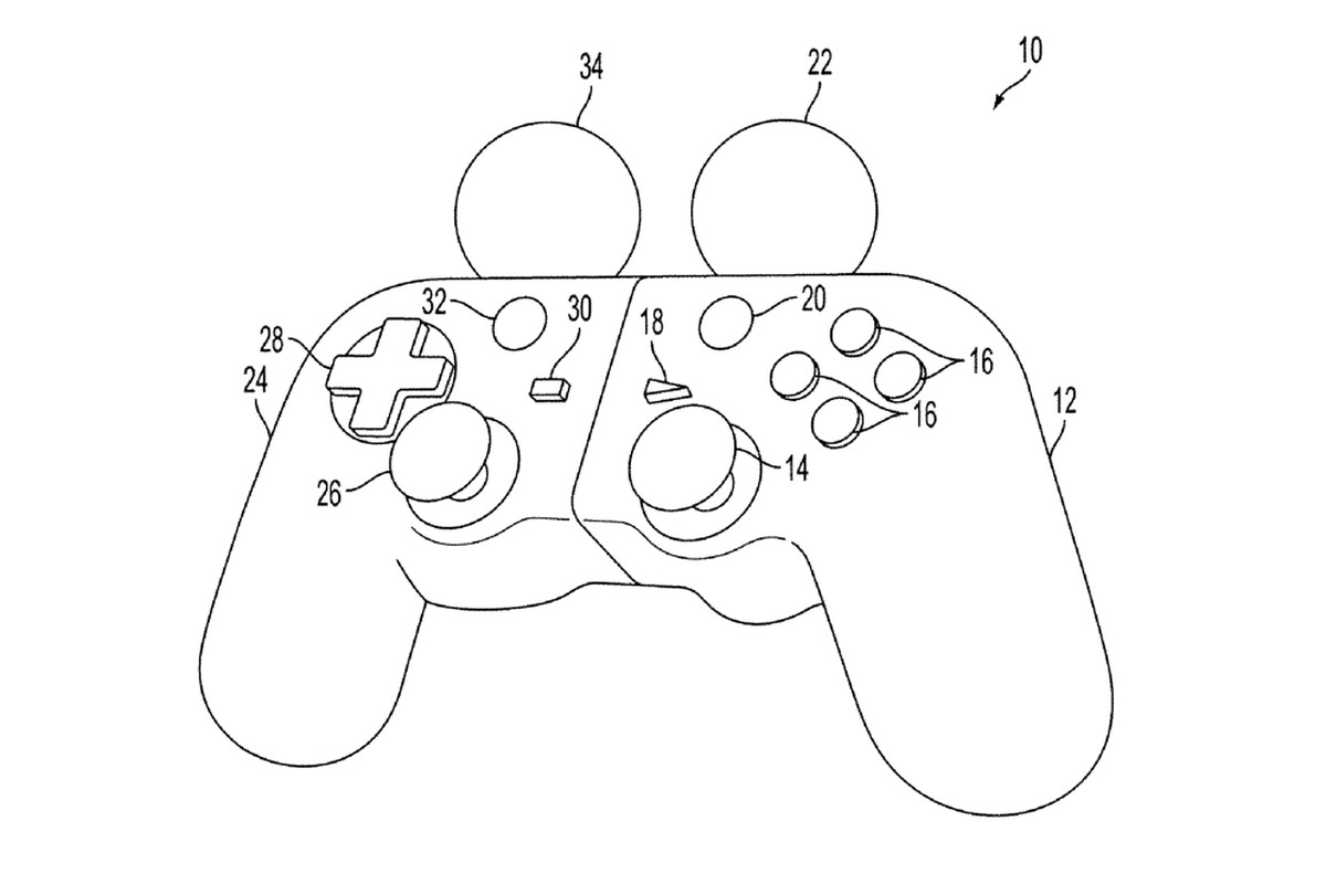 Sony Patent Shows What A Hybrid Dualshock Move Controller