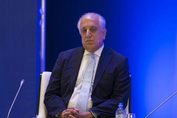Ambassador Zalmay Khalilzad, America's top envoy for Afghan peace talks.