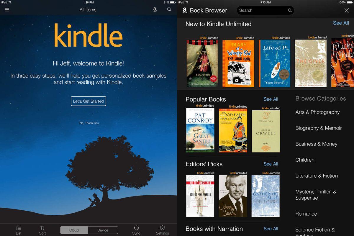 kindle.0.0 - أفضل تطبيقات القراءة: 4 تطبيقات مفيدة لقراءة الكتب والقصص المصورة