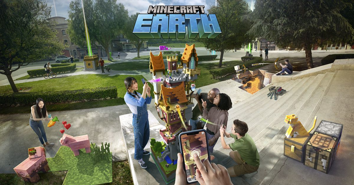 Microsoft's ambitious Minecraft Earth game is closing down on June 30th