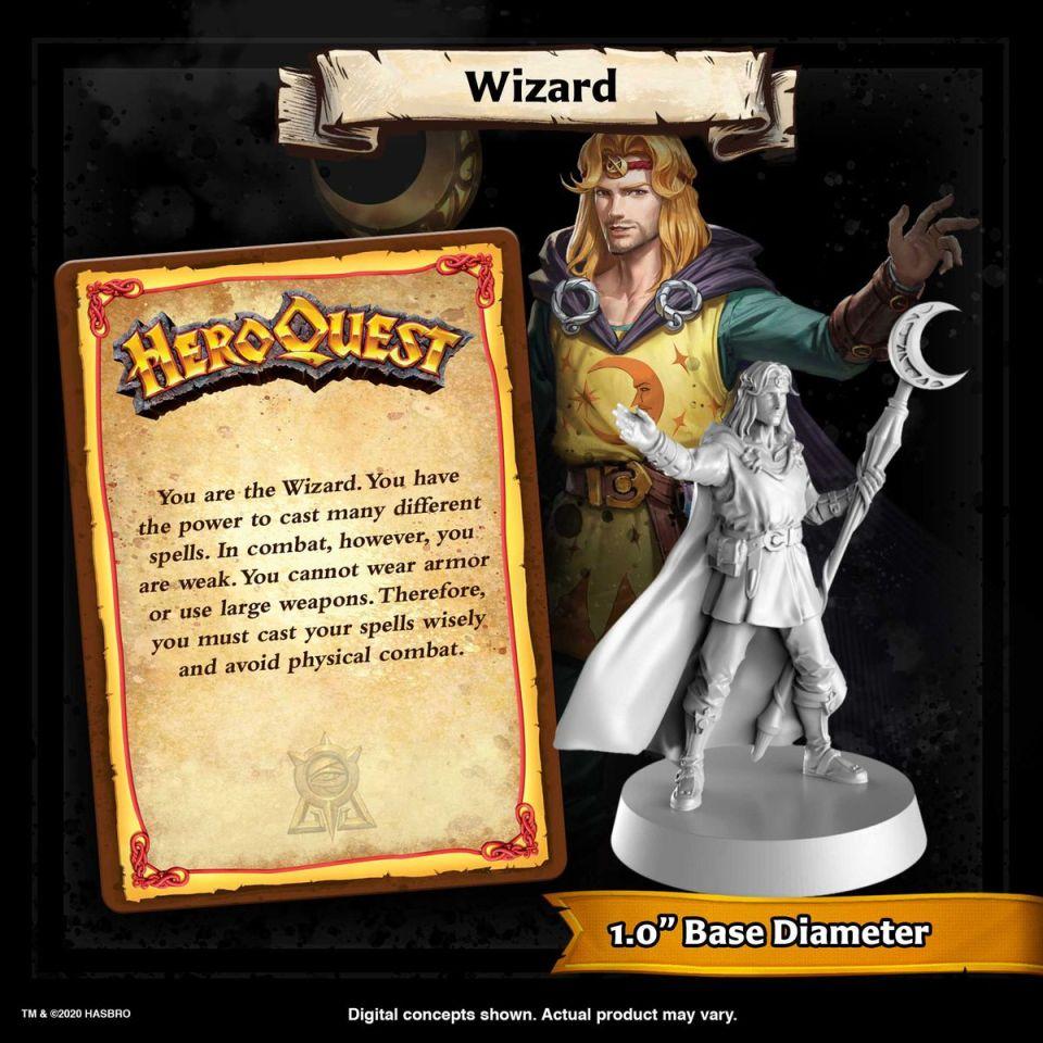 Le magicien ressemble un peu plus à un hipster, avec au moins une journée de croissance.