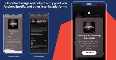 Spotify launches podcast subscriptions, but you can't subscribe in-app