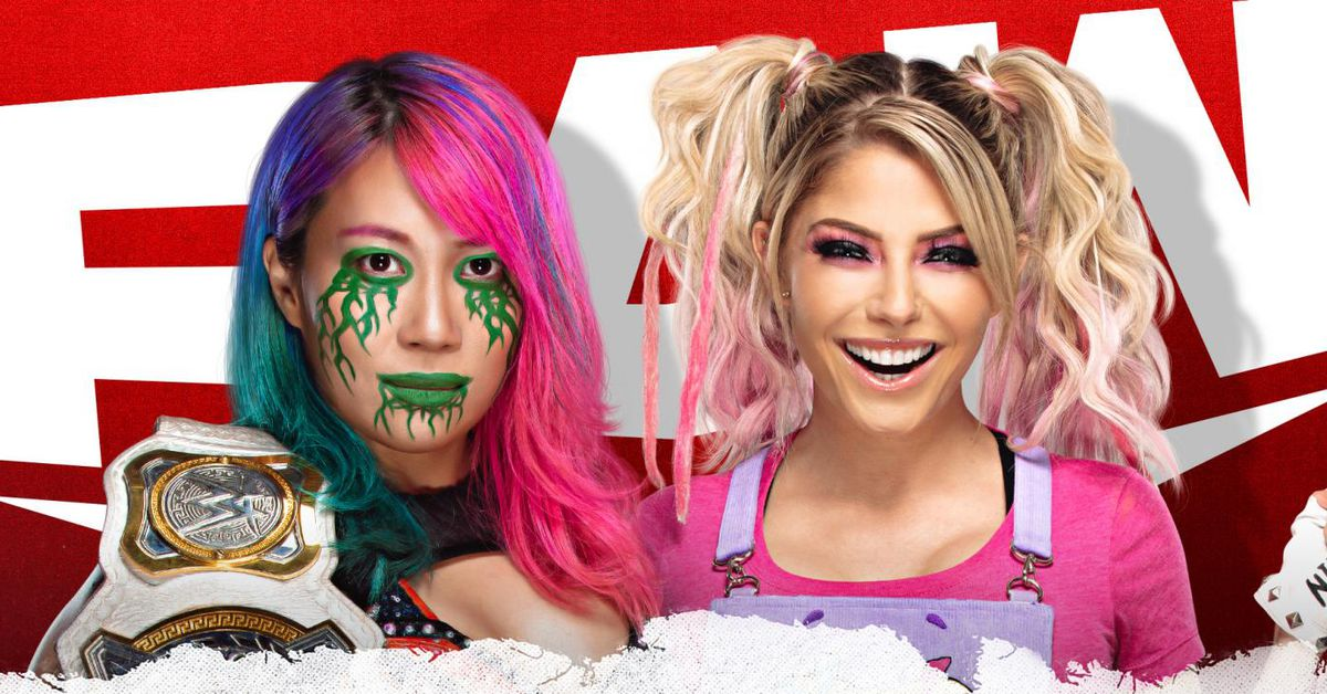 Asuka vs. Alexa Bliss title match booked for Raw this week