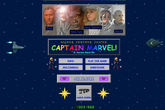 captain marvel website的圖片搜尋結果