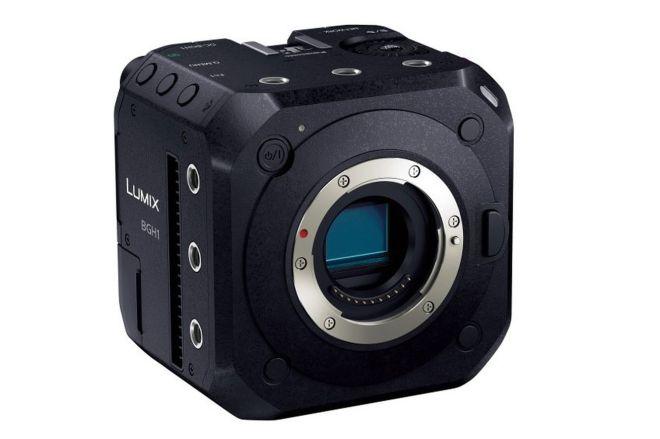 bgh1.0 Panasonic announces tiny box-shaped Micro Four Thirds video camera   The Verge