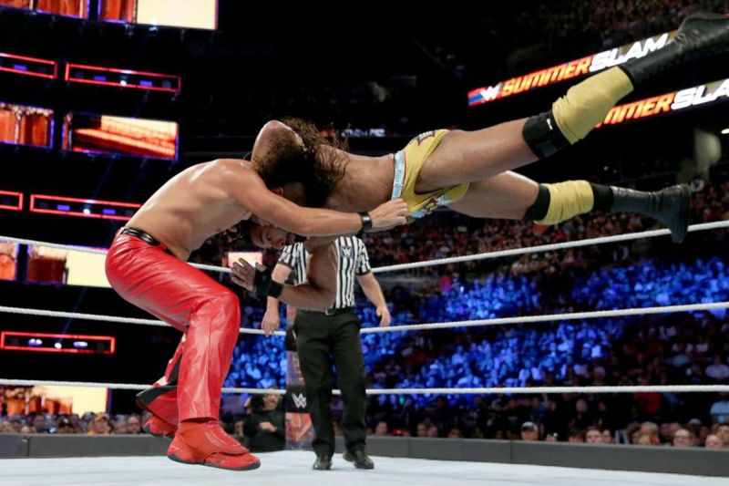 Image result for Jinder Mahal vs Shinsuke Nakamura