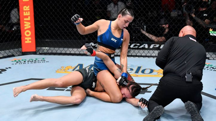 Antonina's world famous defensive grappling on show once again   MAFB: UFC Fight Night 193