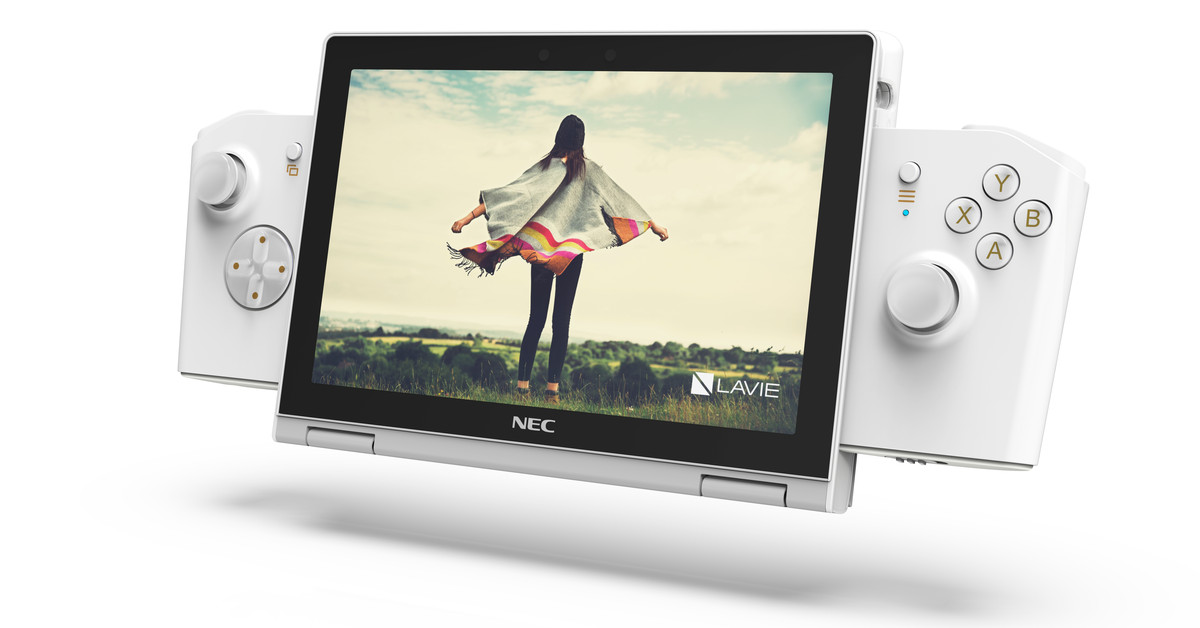 Lenovo chases dream of making a PC Nintendo Switch with the LaVie Mini concept