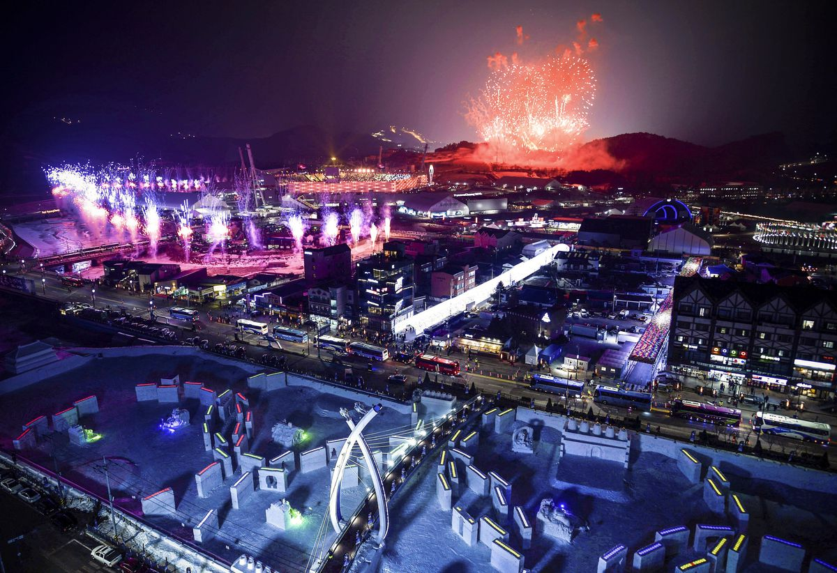 The Winter Olympics Opening Ceremony In 27 Photos