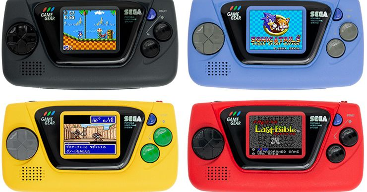Sega's Recreation Gear Micro is 4 $50 consoles with 4