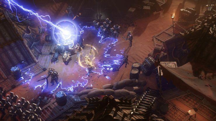 Wolcen lightning attack