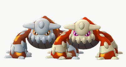 "Resultado de imagen de heatran shiny pokemon go"""