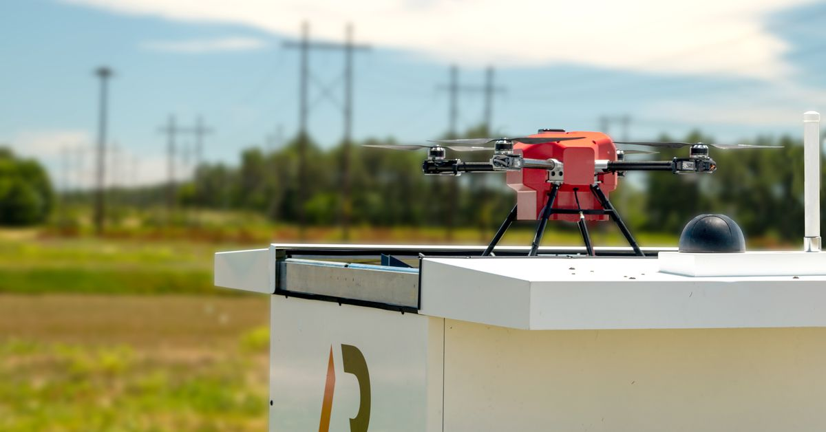 The FAA just greenlit this drone to fly autonomously without a human nearby