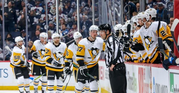 Recap Penguins vs. Jets 10/13/2019: Laff it up, run it up, Lafferty leads Pittsburgh to 7-2 win