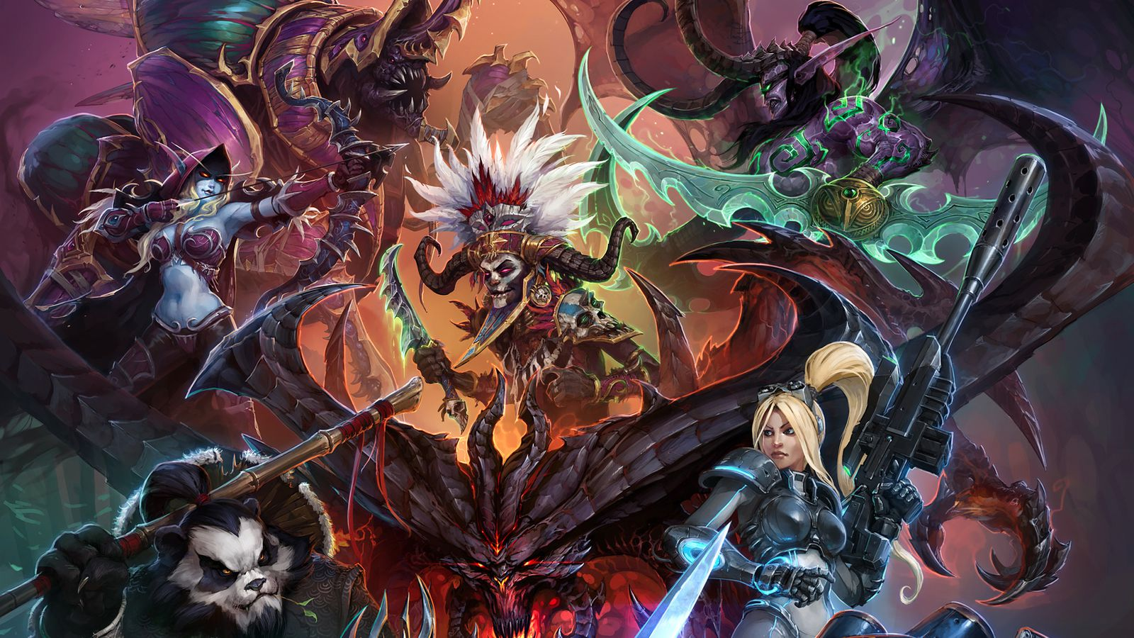 Blizzard Reveals First Artwork For Heroes Of The Storm