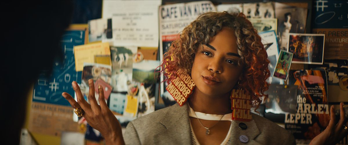 Sorry to Bother You - Detroit shrugging