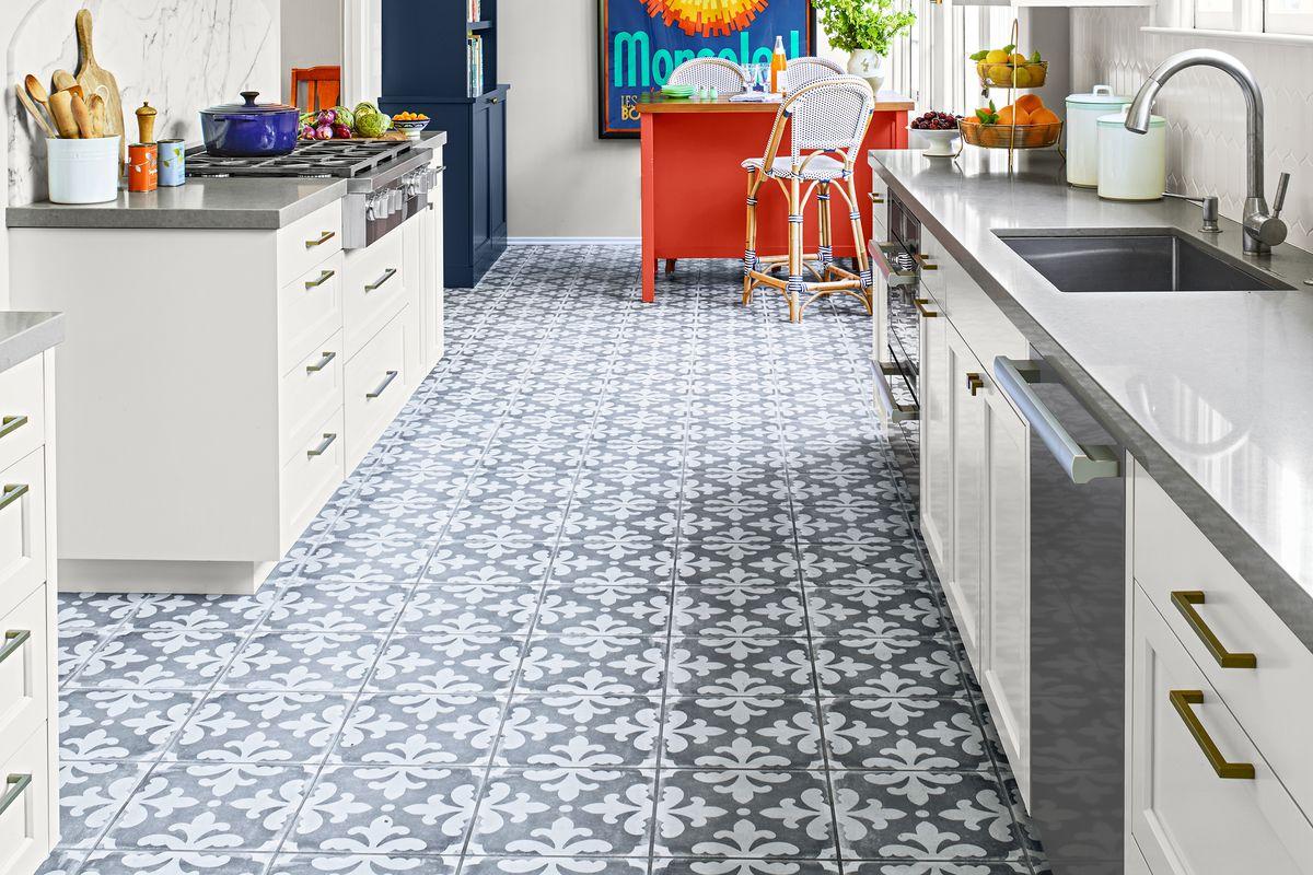 kitchen flooring materials and ideas