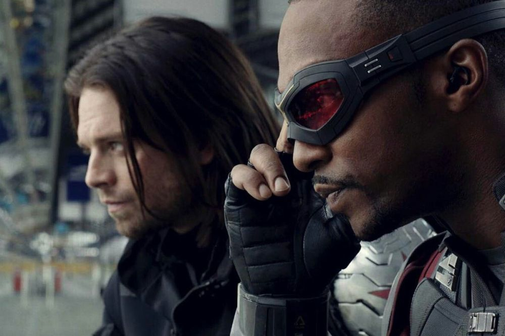Image result for falcon and winter soldier